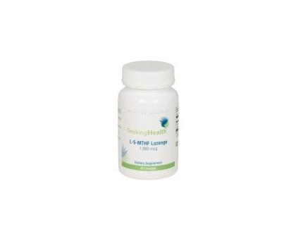 Seeking Health L-5-MTHF(L Methyl Folate) 1,000mcg 60 capsules