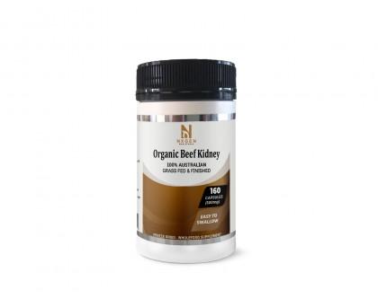 Organic Beef Kidney capsules 500mg -Made in Australia