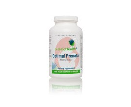 Optimal Prenatal Methyl Free - 180 Capsules