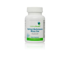 Seeking health Optimal Multivitamin Minus One