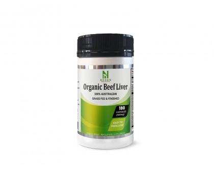 NXGEN Organic Beef Liver Capsules 500MG