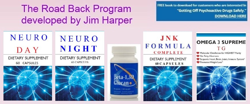 The road back program by Jim Harper